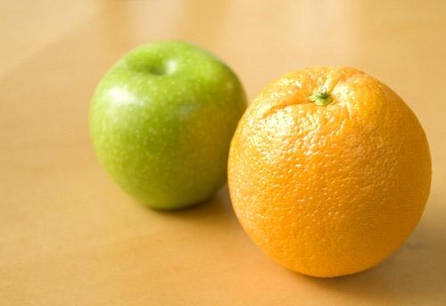 Frutas con pectina