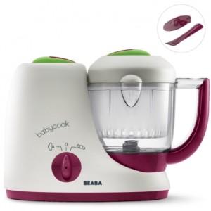 La limpieza de aparatos de comida para bebés