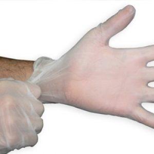 ¿Qué son los guantes de vinilo?