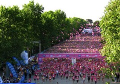 La carrera de la mujer llega a Zaragoza el 9 de Noviembre