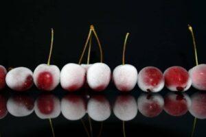 Cerezas congeladas